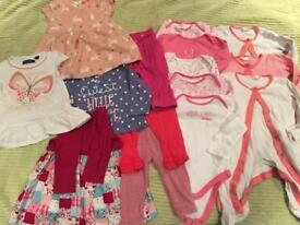 Bundle of Girls Clothes Age 3-6 Months