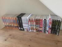 Entire Manga collection