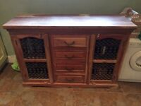 Dining table with 6 chairs and matching sideboard for sale in Wenvoe, collection only.