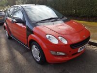 SMART FORFOUR LOW MILEAGE