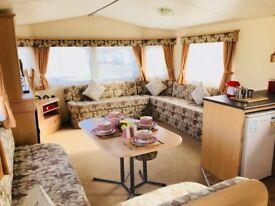 Static Caravan Norfolk Broads Near Gorleston Beach Great Yarmouth East Coast At Cherry Tree