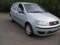 fiat punto,2003reg,1242cc,77280 miles, mot 30-9-16 , low tax etc ,taken px priced to clear