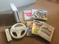 Wii with 6 games