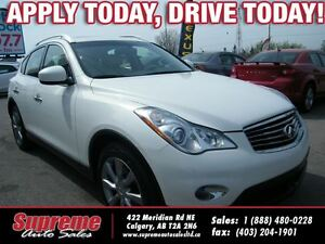 2012 Infiniti EX35 LUXURY AWD/B.CAM/H.SEATS/S.ROOF