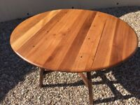 Vintage Ercol drop leaf table