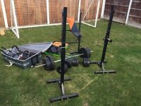 Gym / Weights Equipment for sale