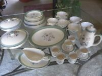 """1960's Midwinter Stylecraft """"Mayfield"""" 48 pieces of tableware"""