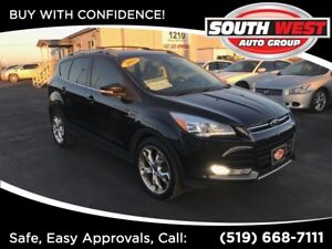 2013 Ford Escape Titanium- NAV + SUN ROOF + LEATHER FULLY LOADED