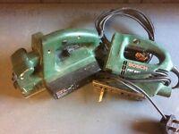 Bosch Electric Jig Saw & Planer
