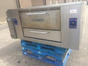 Bakers Pride Gas Deck Oven D125