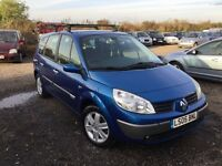 2005 Renault grand scenic 7 seater lo mileage 85000 from new 1years mot nice clean good driving car