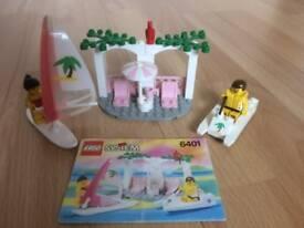 Lego System 6401 Paradisa Seaside Cabana from 1992