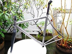 2012 Sabbath Silk Road Titanium Racing Bike Frameset M Medium 54cm Very Good Condition