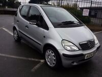 2004 MERCEDES A140 AUTOMATIC 1.4 CLASSIC PART EXCHANGE TO CLEAR HAS NEW MOT READY TO GO TODAY