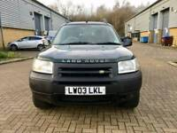 LAND ROVER FREELANDER 1.8 PETROL LOW MILEAGE