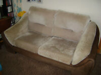 FREE - Brown sofa seats 2 people