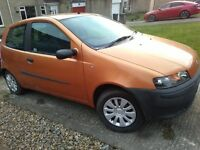 Fitat Punto 1.2, 12 mts MOT, only 80,000 miles, very neat and tidy car.