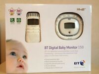 BT Digital Baby Monitor 150, good condition in original box