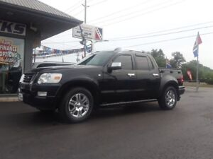 2008 Ford Explorer Sport Trac Limited, Crew, 4X4, Leather!
