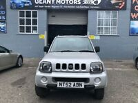 *WARRANTY* 2003 SUZUKI JIMNY 4X4, FULL YEAR MOT, NEW CLUTCH FITTED AND FULLY SERVICED