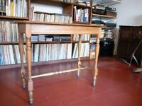 Oak occasional table.