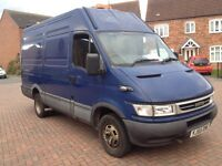 Iveco daily van 2005 55 2.8 turbo diesel 6 speed mwb 1 company owner service history 5.5 tons no vat