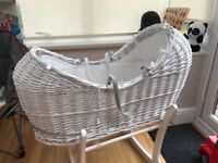 Moses basket and stands