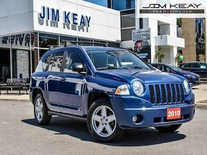 2010 Jeep Compass Sport FWD W/ 4CYL AUTO & POWER GROUP