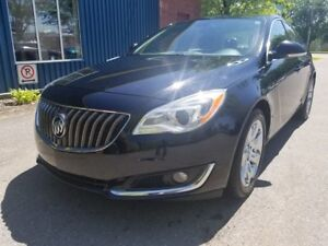 2014 Buick Regal TURBO - AWD - CUIR - CAMÉRA - MAGS !!!