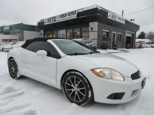 2012 Mitsubishi Eclipse GS Spyder Convertible 2 Doors Automatic