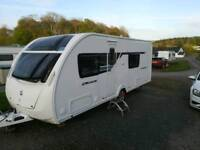 Caravan stirling cruach fixed bed