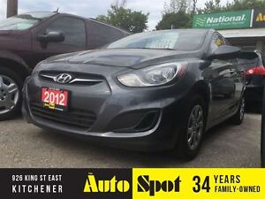 2012 Hyundai Accent GL/CLEAN CAR/PRICED FOR A QUICK SALE!!