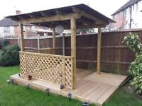 Fencing, Wooden Constructions, Good Prices