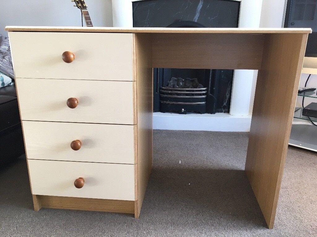 Desk/dresser pine effect