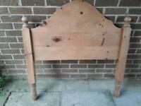 Pine bedhead 3'