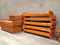 job lot 30 bays of dexion pallet racking AS NEW( storage , shelving )