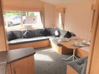 STATIC CARAVAN WITH 2018 PITCH FEES INCLUDED !!! SEA VIEWS , 12 MONTH OWNERS PARK