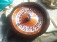 Full size Roulette wheel
