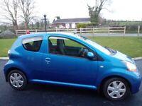 2010 Toyota AYGO 'Blue', 998cc, 3 door🌟Group 2 Insurance🌟£20 Tax year