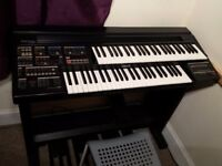 Yamaha Electone HE-8 organ, piano, keyboard player