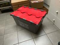 Plastic Tote Storage Boxes