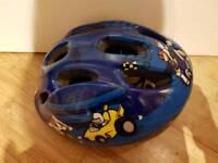 Bell Jumpstart Blue Cars Bike Helmet