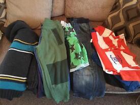 Bundle of boys clothes 6-7