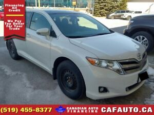 2015 Toyota Venza   ONE OWNER   NAV   ROOF   LEATHER
