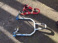 Oxford Premium Rear Paddock Stand - Excellent condition - Motorcycle