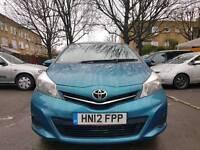 2012 Toyota Yaris 1.3, 9000 miles, MOT till 30/11/2017