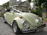 VW KARMANN BEETLE rhd 1975 wedding car