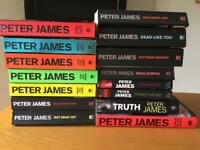 15 Peter James Books