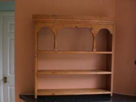 Solid Old Pine Hanging Shelf
