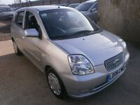 2006 KIA PICANTO 1.1 FULL AUTOMATIC, 5DOOR HATCHBACK, SERVICE, CLEAN CAR, DRIVES VERY NICE
